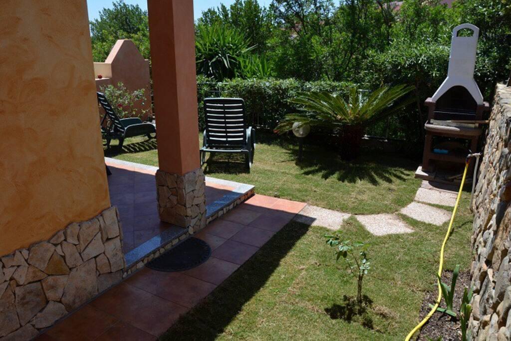 lato giardino