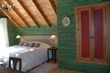Wooden cabin 100m from the lake - San Carlos de Bariloche - Cabaña