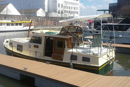 Romantisch bootje in centrum Maastricht - Maastricht - Boat