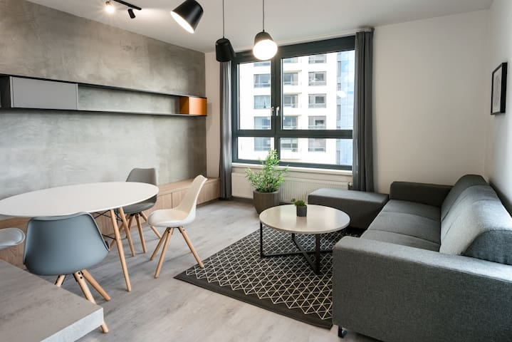 MODERN and BRAND NEW Apartment with Balcony