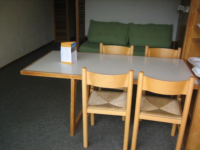 studio cabine 4 personnes - Saint-Bon-Tarentaise - Leilighet