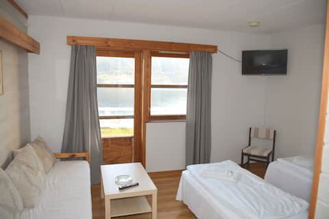Mini apartment with view to the fjord