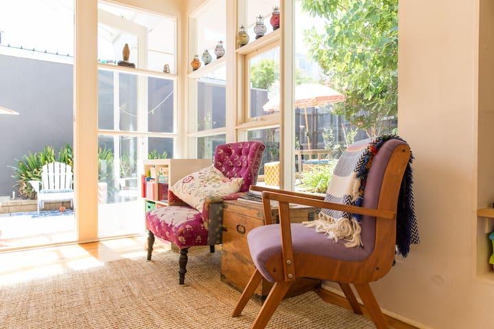 Central 3BR home ideal for kids - Prahran - Dom