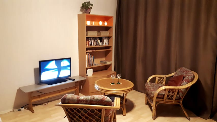Apartment with free wifi and swimmingpool.