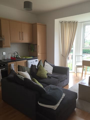1BD + parking by Farnborough A'port - Farnborough  - Byt