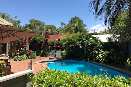 Shelly Beach 'Rainforest Haven' with pool!