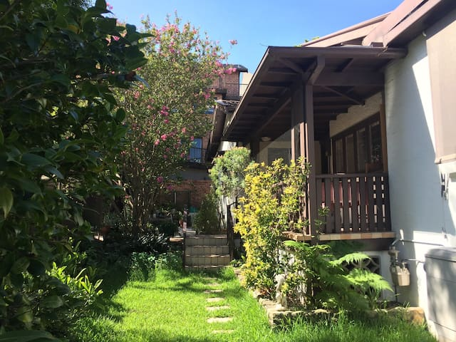 Room2: Quiet house short stroll to amazing view - Cremorne - Hus