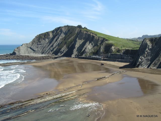 Nice penthouse apartment in the center of Zumaia - Zumaia - Apartemen