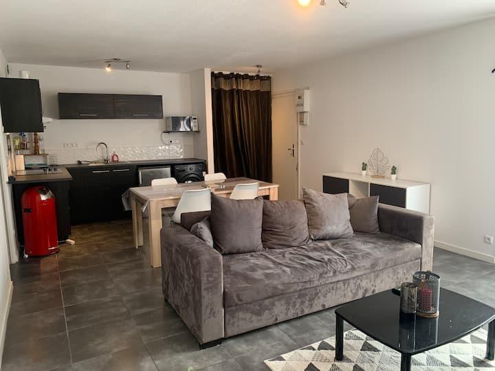 Appartement T2 dans une résidence calme