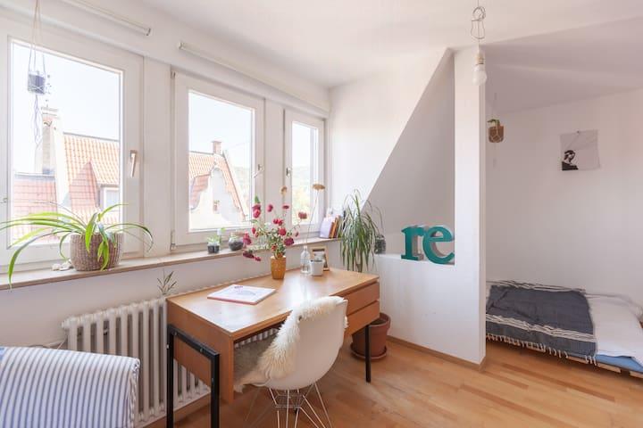 Zimmer in WG für eine Person im Lehenviertel