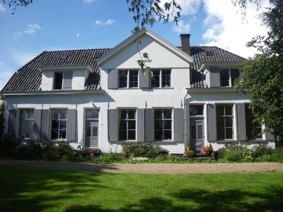 Appartement in boerderij uit 1791 appartementen te huur for Opknap boerderij te koop gelderland