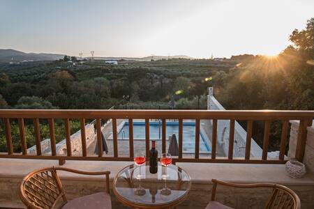 Private Villa 7min from the sea and shops - Asteri - Villa
