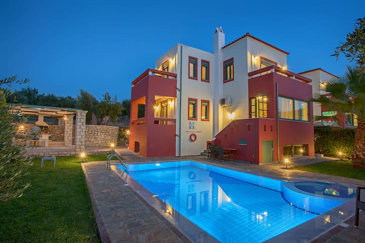 Villa Kiikas with private pool and BBQ Rethymno - Rethymnon - Talo
