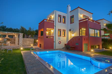 Villa Kiikas with private pool and BBQ Rethymno - Ev