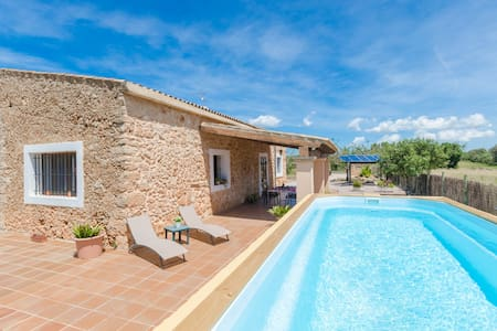 SON MATET - Apartment with private pool in Santa Eugenia.