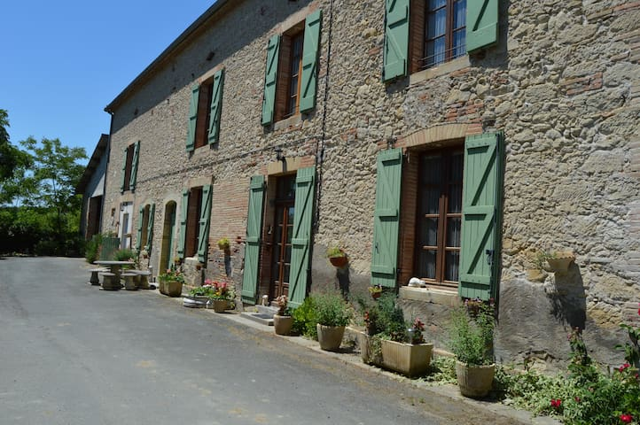 la ferme de roumanieu - Saint-Gauzens - Huis
