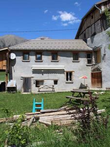 Proche Barcelonnette, maison à Lans - Jausiers - Casa