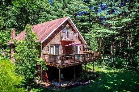 Rainbow Chalet on the Savage River - Swanton - House