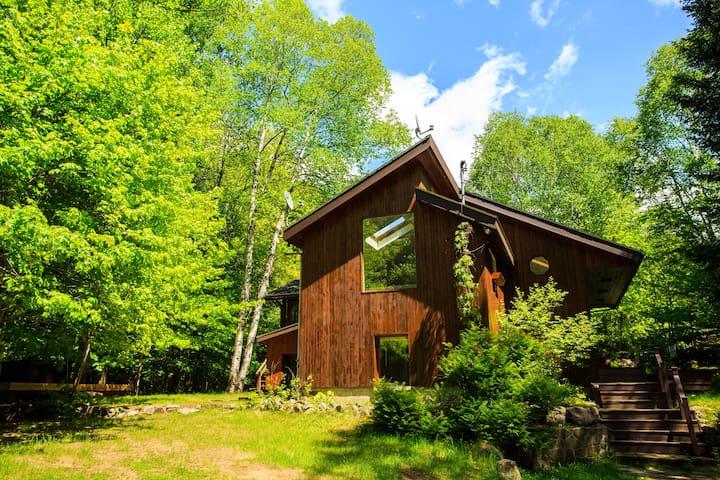 Cedar House Mont Tremblant - Lac-Supérieur - Chatka w górach