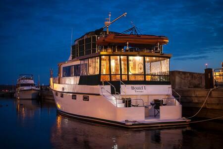 Toronto Boat B & B - Nassau Cabin - Toronto