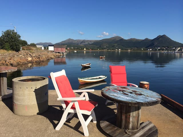 Rom på kaia i idylliske Skagen i Bø - Bø i Vesterålen  - Bed & Breakfast