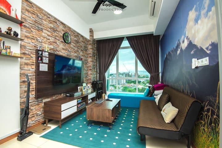 M&V Sabah Suite @ Sutera Avenue 沙巴州神山主题3-7人舒适套间