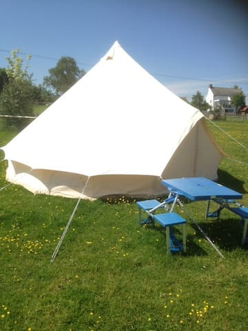 Bell tent. 5-metre - Llancloudy - Tenda Tipi