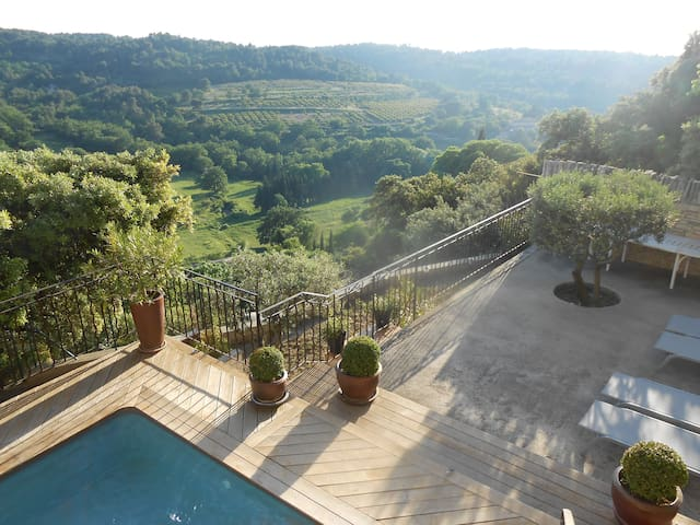 Property Provence incredible view! - La Roque-sur-Pernes - House