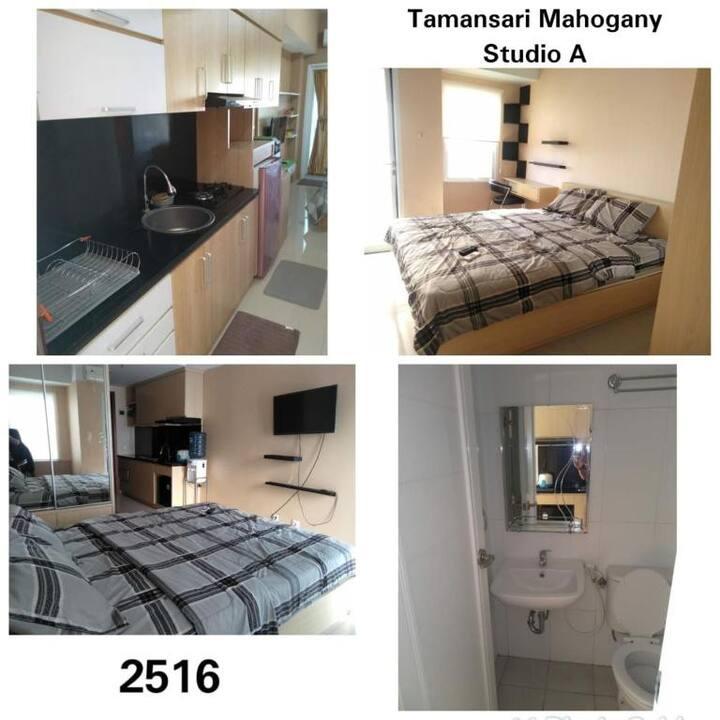 Nice Studio A at Tamansari Mahogany by SA Property