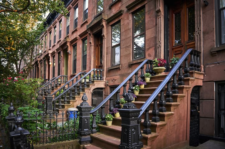 Gorgeous Brownstone house on Park Ave - New York - Townhouse