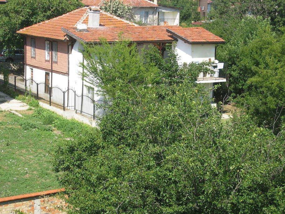 Les deux maisons mitoyennes : idéal pour 2 familles