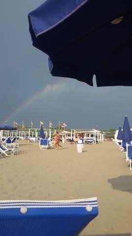 casa a Torre con servizio spiaggia - Torre del Lago Puccini - Apartemen