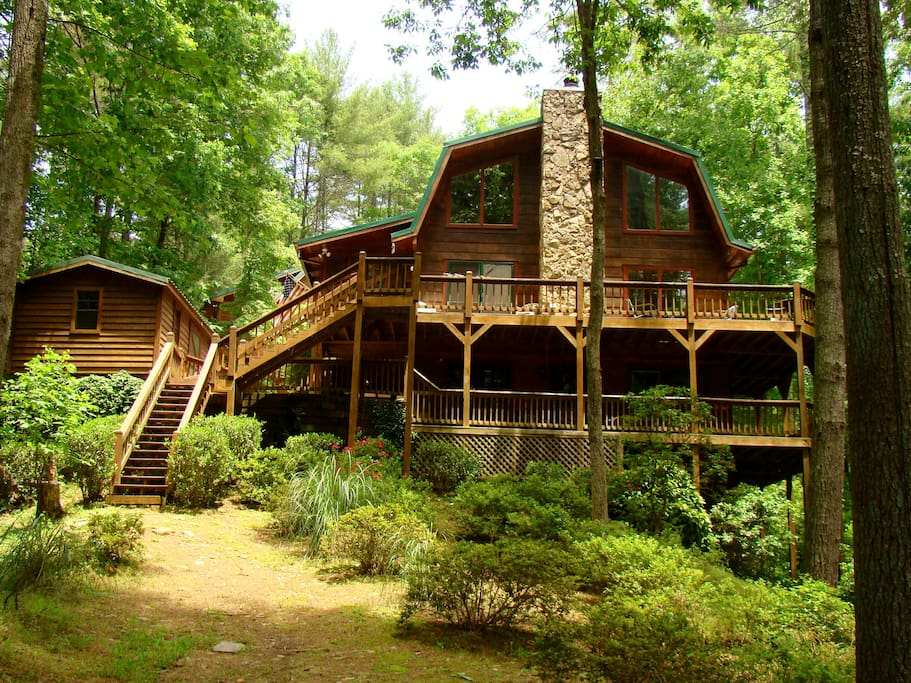monarch lodge cabins for rent in dahlonega georgia