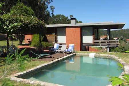 moderna casa de férias com piscina  - Ponte de Lima - Rumah