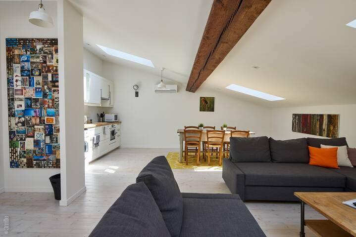 Grand Artistic Loft Apt -Bordeaux Winelands Blaye