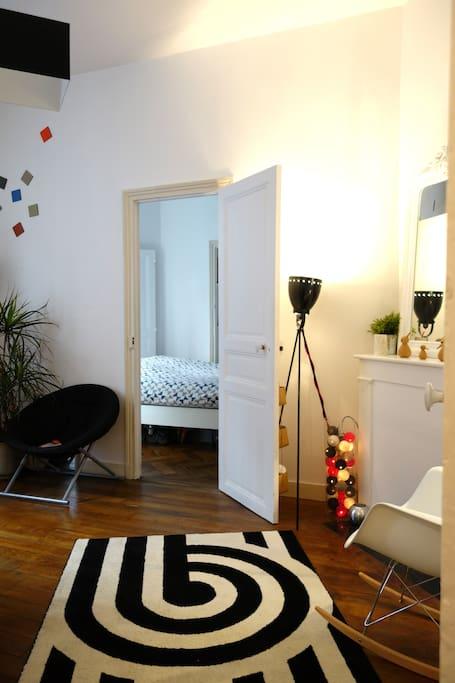 Le salon / the living room