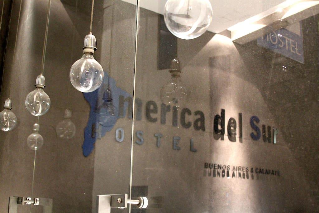 Entrada - Hostel de Diseño -