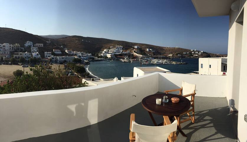 2Bedroom Apartment @ Loutra Kythnos - Loutra - Appartement