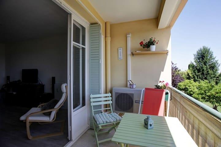 Au pied de la chapelle Matisse: joli appartement