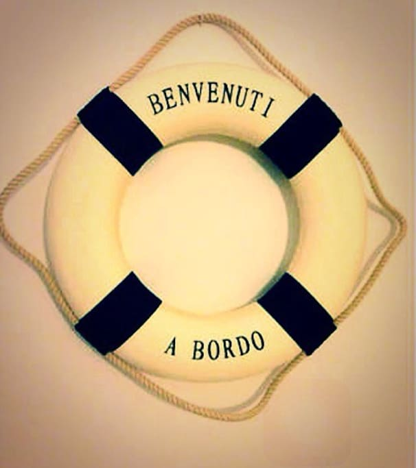 Benvenuti a bordo!!! (Welcome on board!)