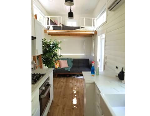 Tiny Home Rental at Pilgrim's Rest Campground