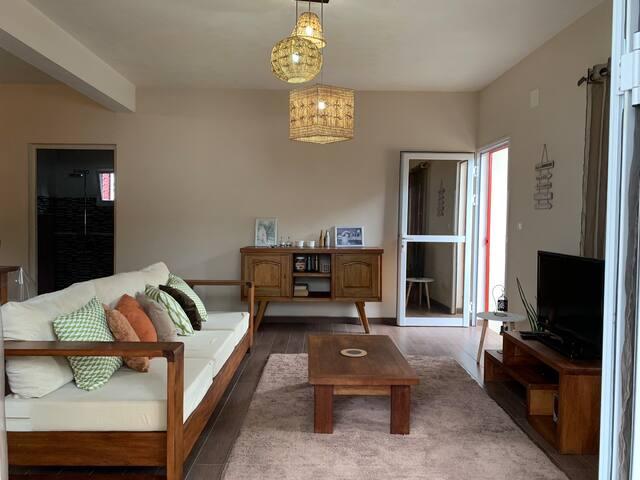 Maison de vacance,charme cocooning et moderne,calm