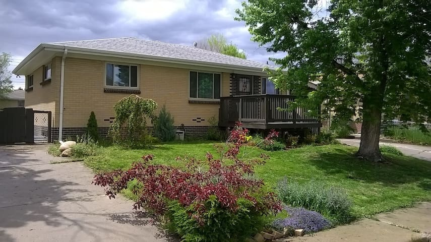 Private room, Private bath, Free Wi-FI - Wheat Ridge - Huis