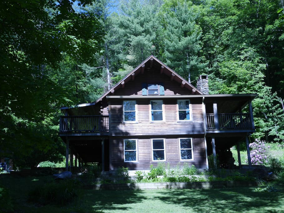 On 6 private, wooded acres. 20 minutes from MetroNorth railroad.