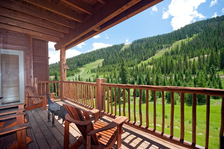 Lone Moose Meadows 203, creekside, mountain views - Gallatin Gateway - Casa