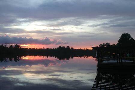 Beautiful Sunsets at this Fisherman's Paradise