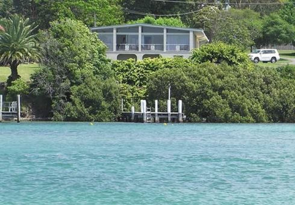 Waterfront Home with Private Jetty