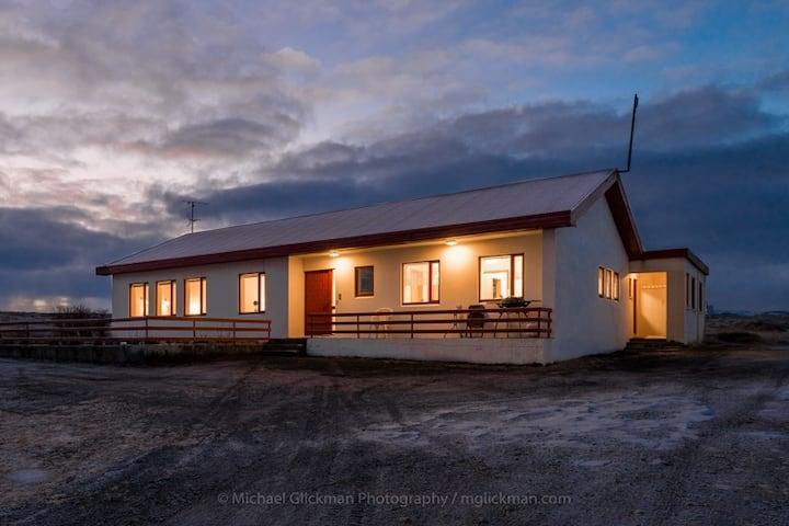 Garður Guesthouse, Asbyrgi, Northeast Iceland.