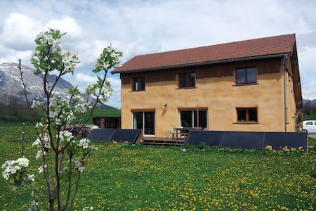 Maison en paille 7/8 pers pr.Gap ! - Saint-Eusèbe-en-Champsaur