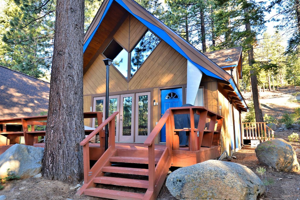 3br 2ba north lake tahoe chalet case in affitto a for North lake tahoe cabins